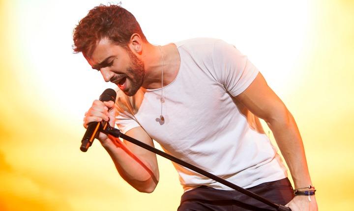 Pablo Alborán conquistó a los mexicanos con concierto