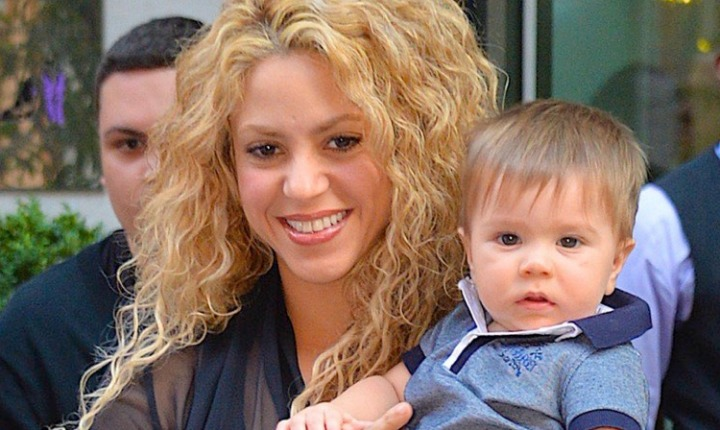 Shakira comparte foto de Sasha en Instagram