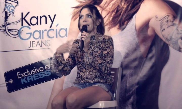 """Nueva línea de  """"jeans"""",  Kany García"""
