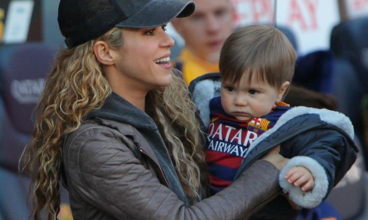 ¿El hijo pequeño de Shakira estará interesado por la música?