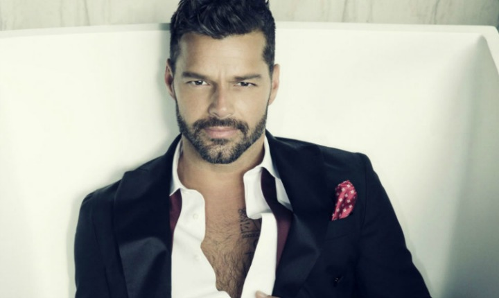 Ricky Martin ya se encuentra filmando serie de Versace