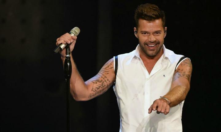 Ricky Martin, revivió viejos tiempos