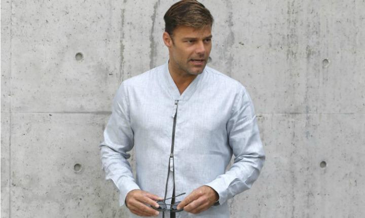 Ricky Martin disfrutó de fin de semana lleno de romanticismo y moda