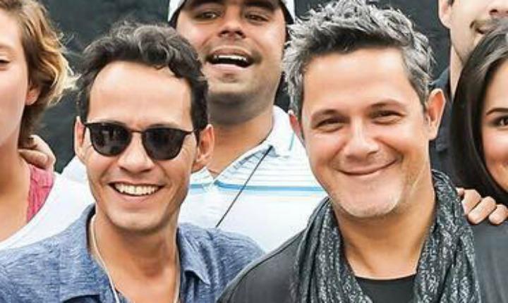 Alejandro Sanz y Marc Anthony unidos por Venezuela