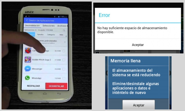 Libera espacio en tu celular con estos 6 trucos