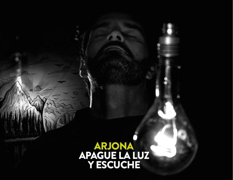 RICARDO ARJONA PRESENTA SU NUEVO ÁLBUM: 'APAGUE LA LUZ Y ESCUCHE'