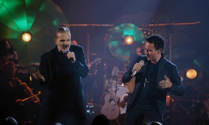 Miguel Bosé y Fonseca estrenan 'Bambú'