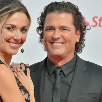 Carlos Vives le responde a periodista que criticó a su esposa