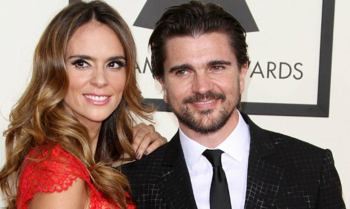 Juanes y su esposa se ponen en forma