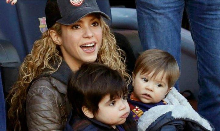 Shakira presume del talento de sus hijos