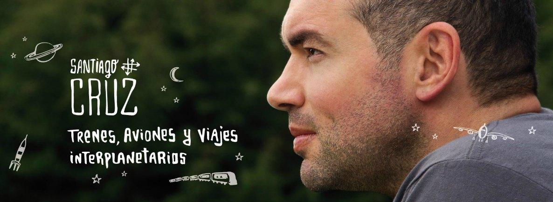 """¡Súbete en """"Trenes, Aviones y Viajes Interplanetarios"""" con Santiago Cruz!"""