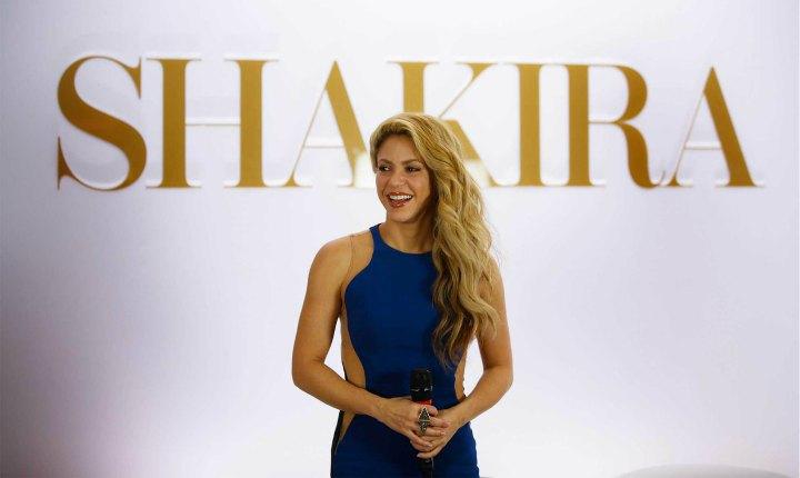 Shakira enterneció las redes con mensaje de Feliz Año