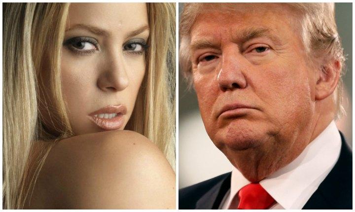 La respuesta contundente de Shakira a Donald Trump