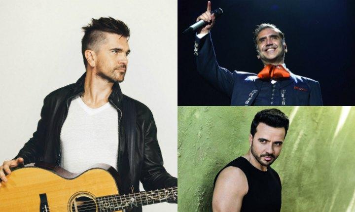 Juanes, Fonsi y Alejandro Fernández les cantaron a los latinos en EE.UU