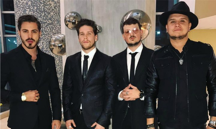 Integrante de Piso 21 sufre caída en concierto