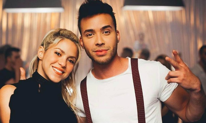 Shakira y Prince Royce trabajan en video musical