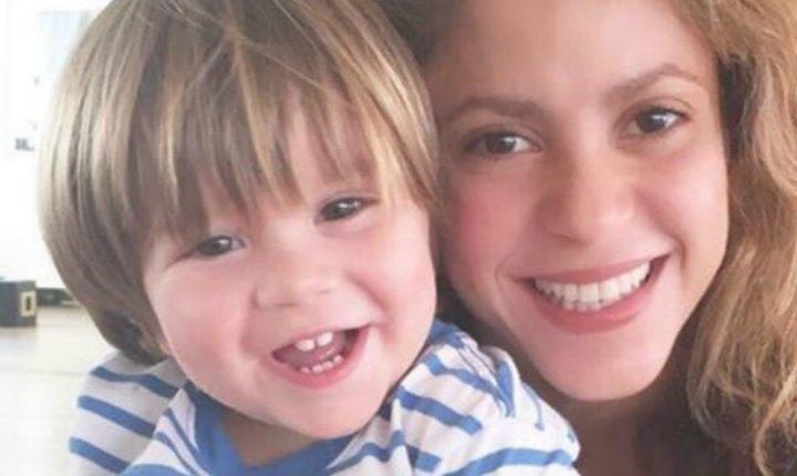 Shakira le enseña bachata a Sasha
