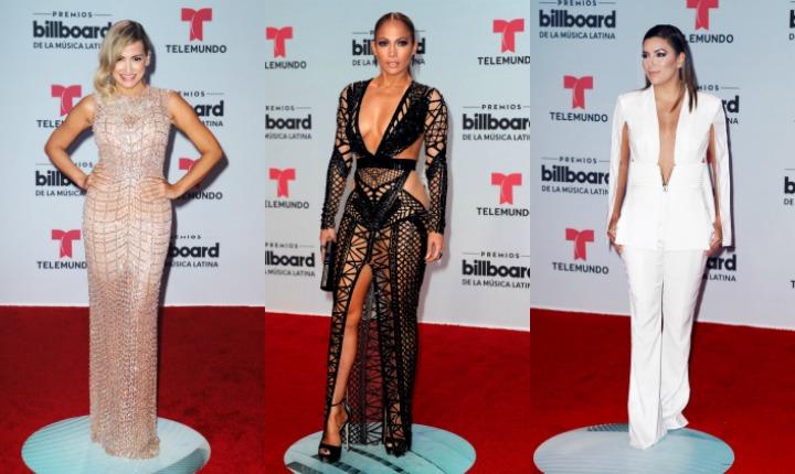 Billboard Latinos 2017: la alfombra roja y el desastre de JLo