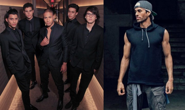 Enrique Iglesias y CNCO presentan 'Súbeme La Radio' Remix