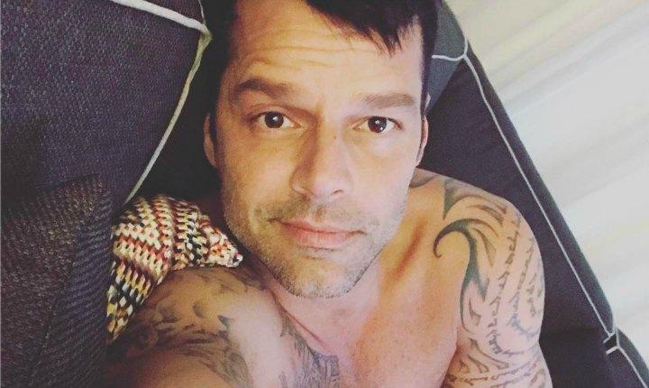 Ricky Martin enloquece las redes por sus fotos en vacaciones