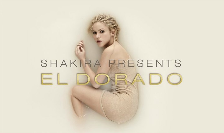Shakira marca su regreso con su nuevo álbum 'El Dorado'