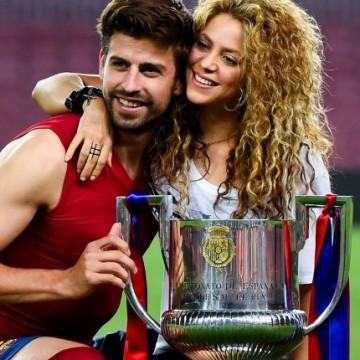Shakira celebra triunfo de FC Barcelona con su familia
