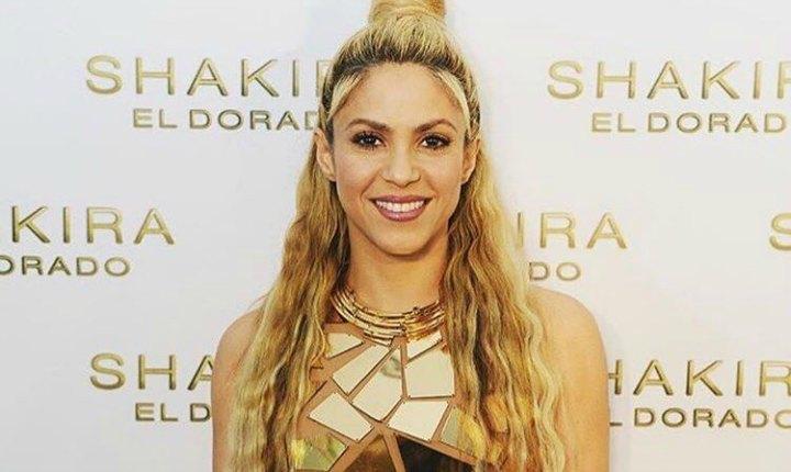 Así se alista Shakira para iniciar su gira mundial