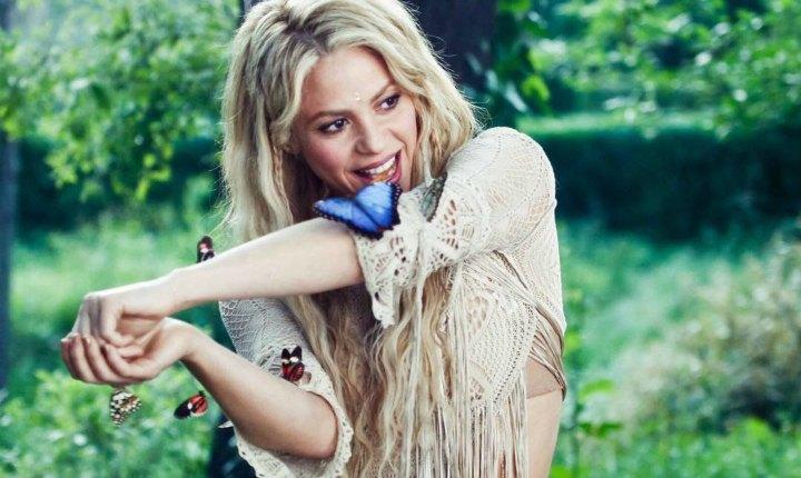 Shakira, la artista latina más reproducida del año en Spotify