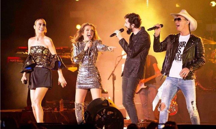 Thalía y ex compañeros de Timbiriche estrenan 'Junto A Ti'